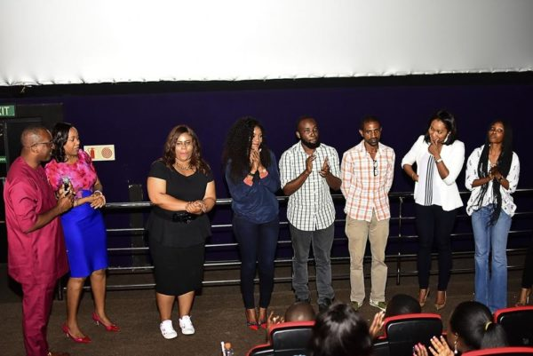 During the Screening Q&A