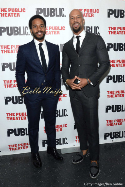 Andre Holland & Common