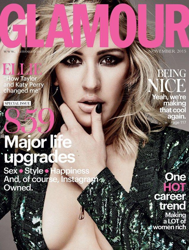 Ellie Goulding for Glamour Magazine - BellaNaija - September 2015