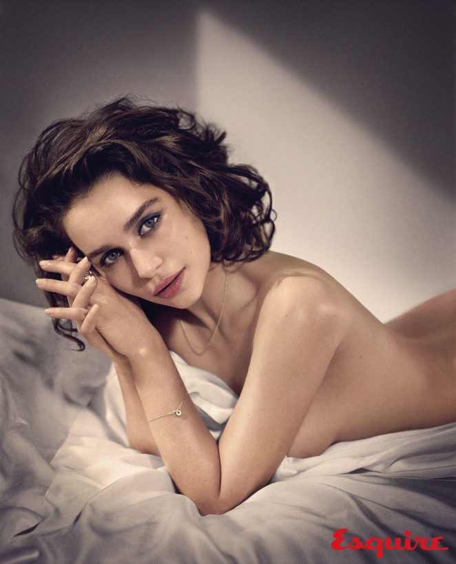 Emilia Clarke for Esquire Magazine - BellaNaija - October 2015001
