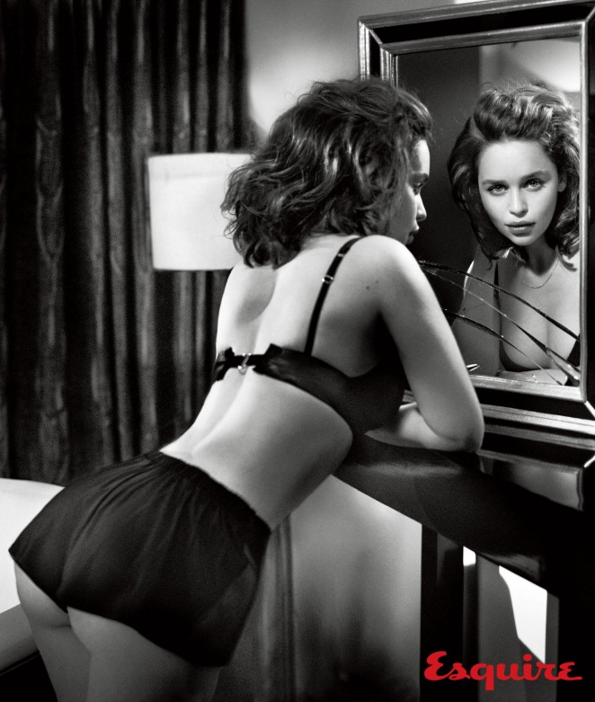 Emilia Clarke for Esquire Magazine - BellaNaija - October 2015003