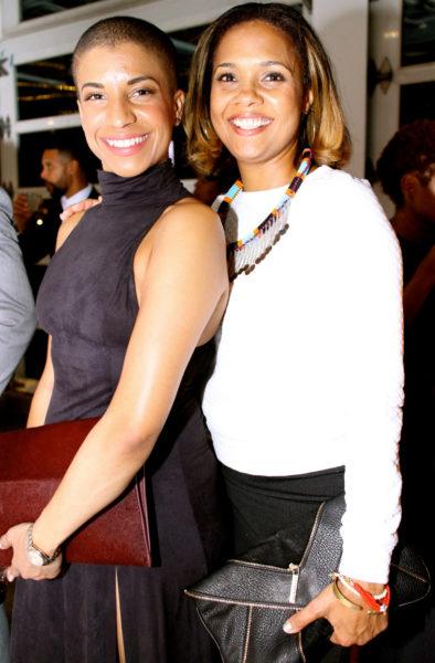 Essence Magazine's Dana Blair and Cori Murray