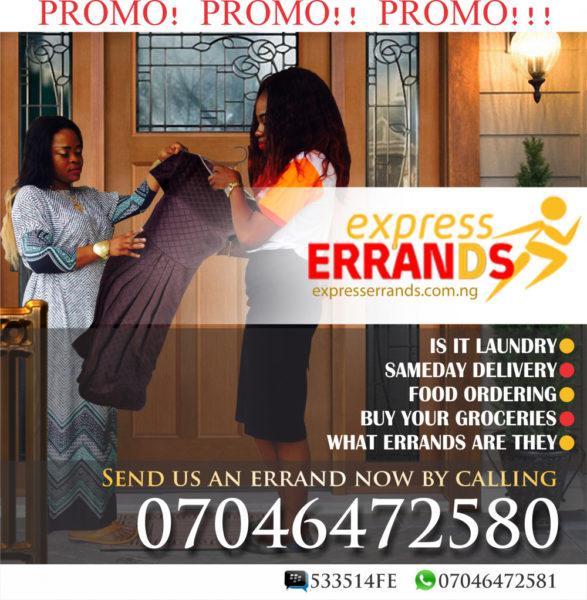 Express Errands promo