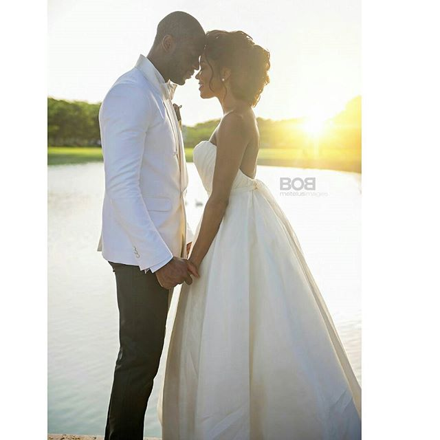 Gabrielle Union Wade Wedding 1