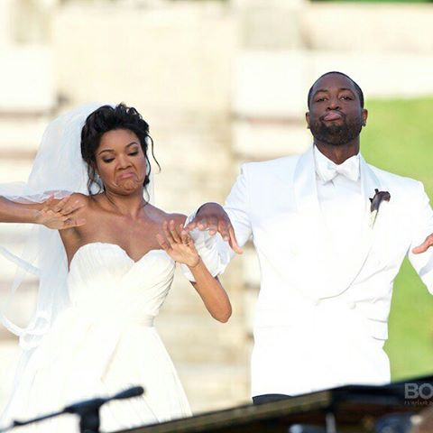Gabrielle Union Wade Wedding 2