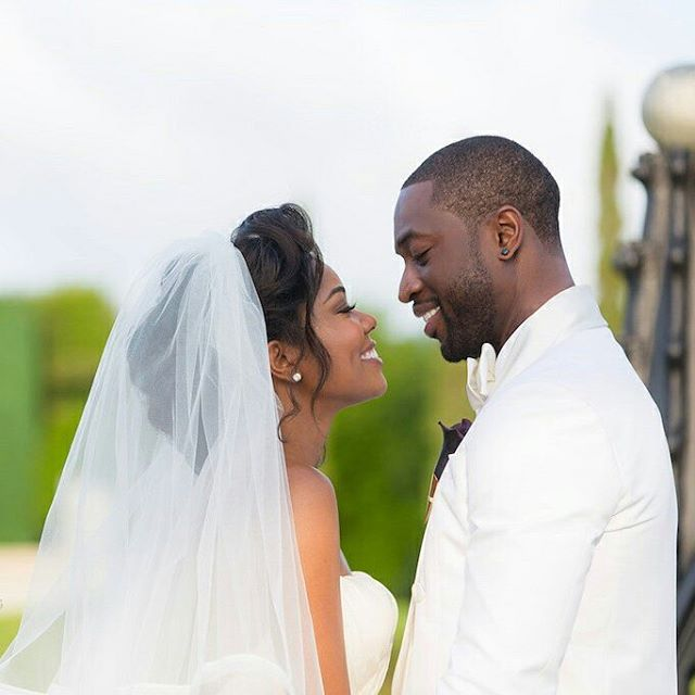 Gabrielle Union Wade Wedding