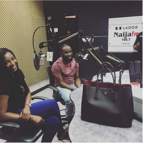 Genevieve Nnaji & Ishaya Bako