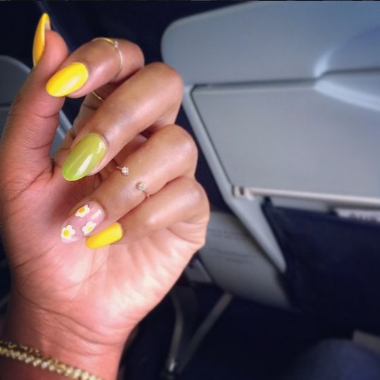 Genevieve Nnaji Nails - BellaNaija - October 2015004