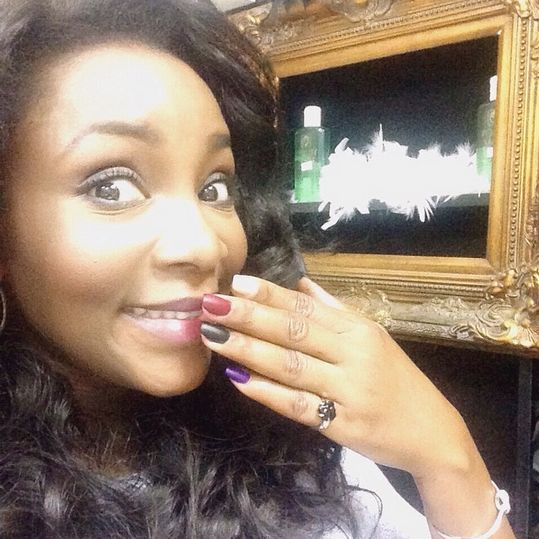 Genevieve Nnaji Nails - BellaNaija - October 2015006