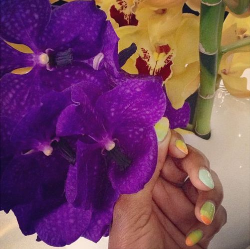 Genevieve Nnaji Nails - BellaNaija - October 2015009