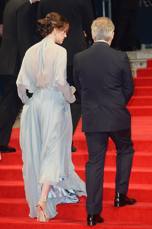 Catherine, Duchess of Cambridge and Director Sam Mendes