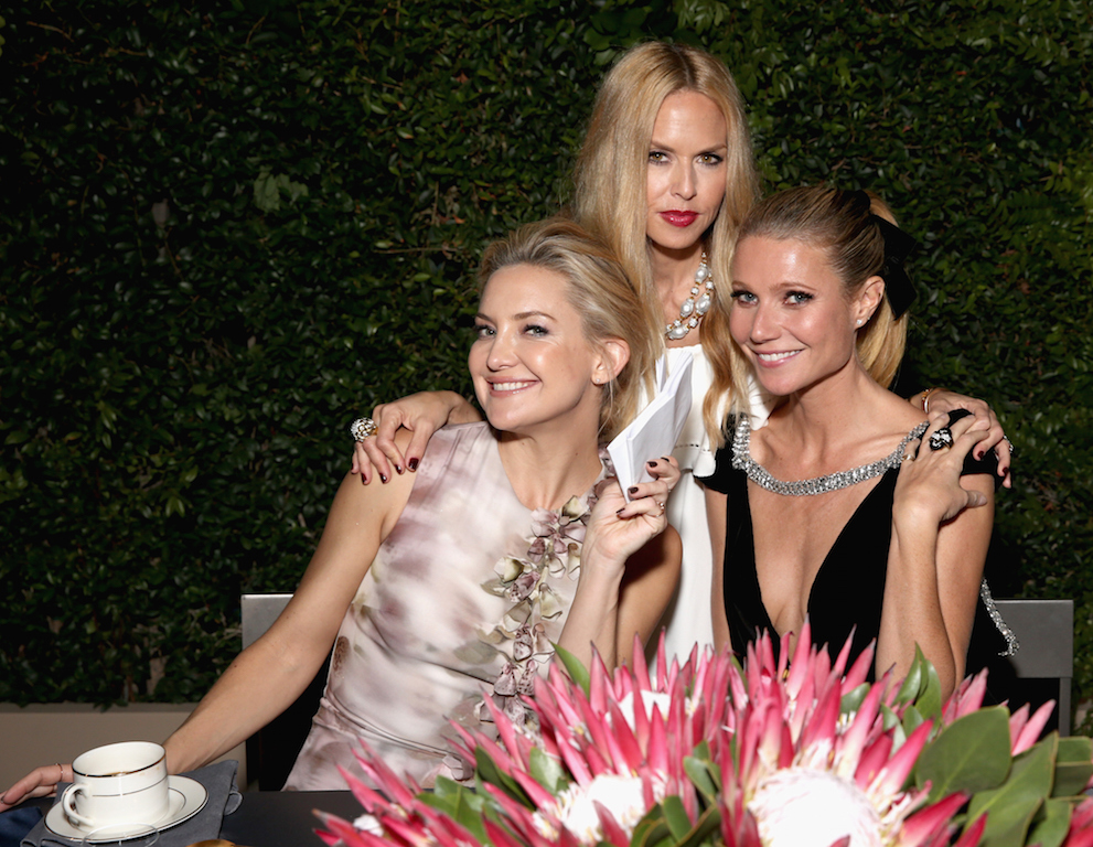 LOS ANGELES, CA - OCTOBER 26: (L-R) Actress Kate Hudson, fashion designer Rachel Zoe and actress Gwyneth Paltrow attend the InStyle Awards at Getty Center on October 26, 2015 in Los Angeles, California. (Photo by Todd Williamson/Getty Images for InStyle)