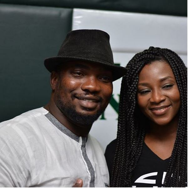 Godwin Aruwayo & Genevieve Nnaji