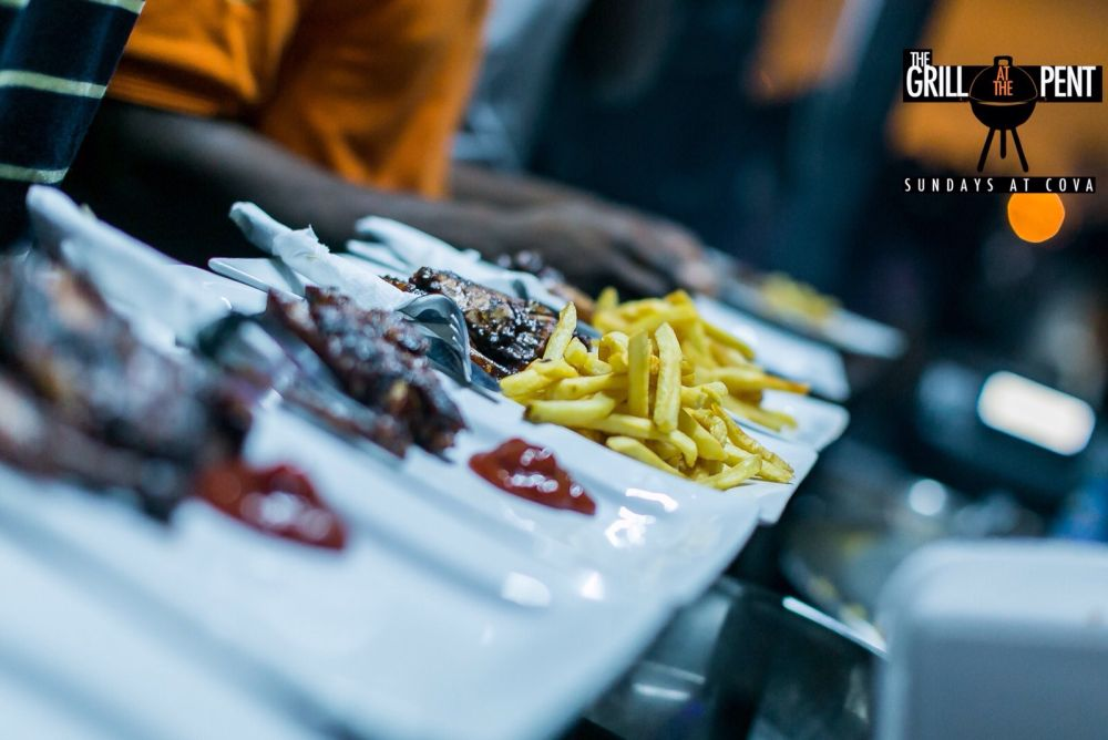 Grill At The Pent Art Fusion Party - Bellanaija - September024