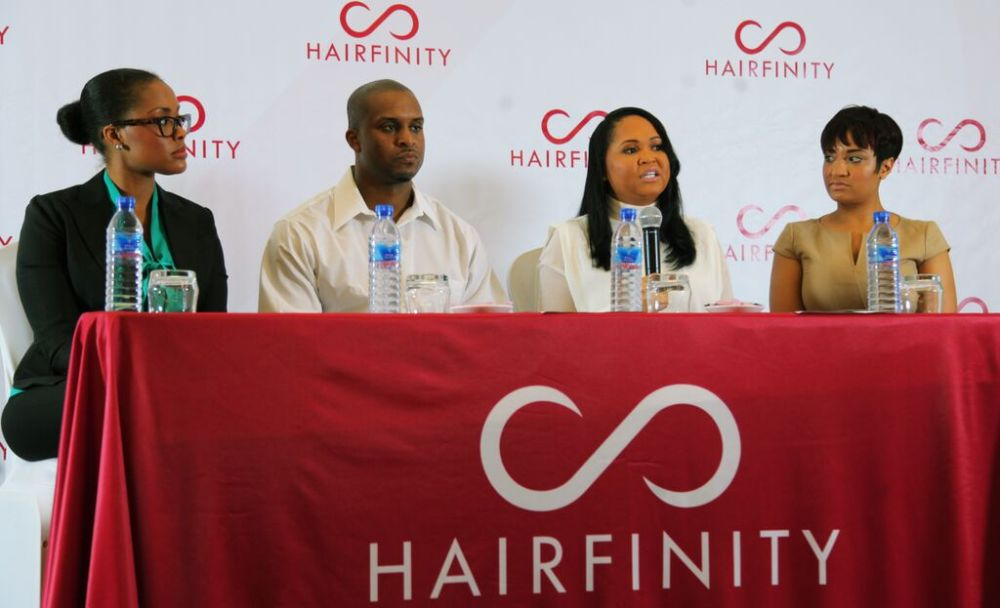 Hairfinity Team in Nigeria - Bellanaija - October001