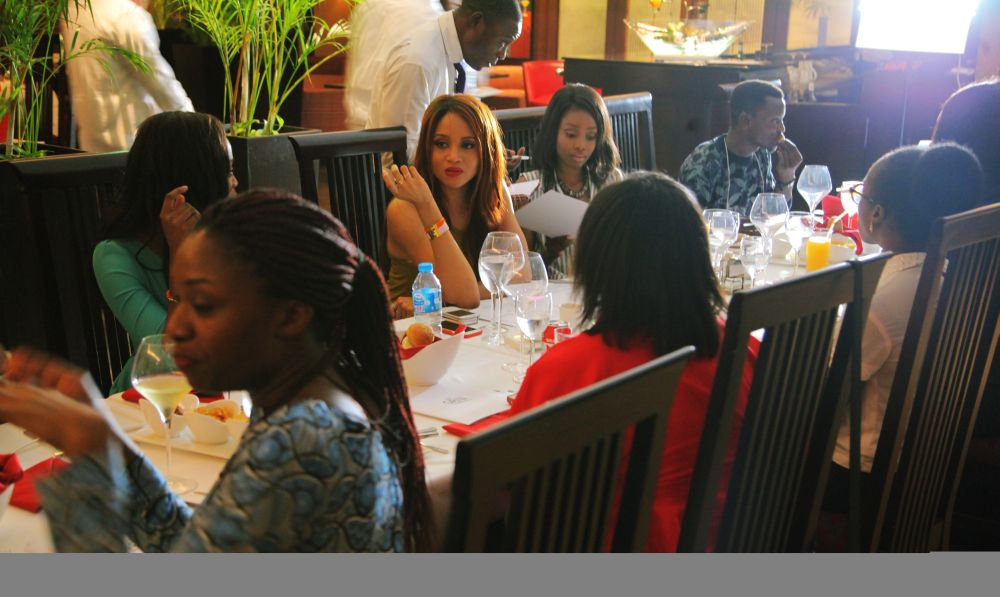 Hairfinity Team in Nigeria - Bellanaija - October003