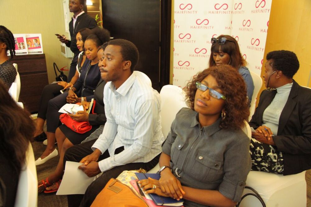 Hairfinity Team in Nigeria - Bellanaija - October011