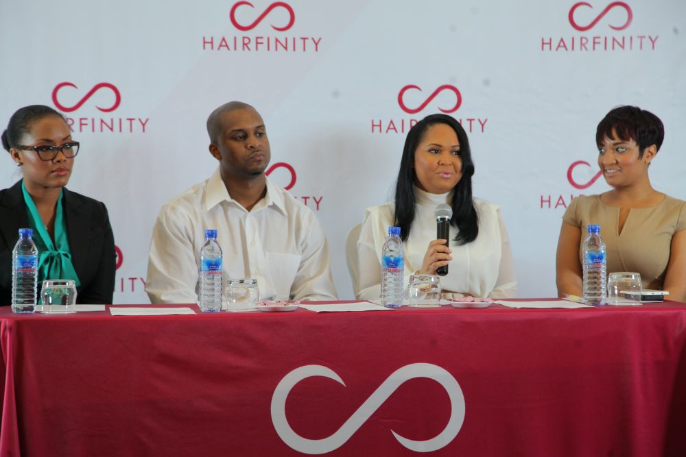 Hairfinity Team in Nigeria - Bellanaija - October014
