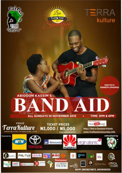 Handbill for Band Aid