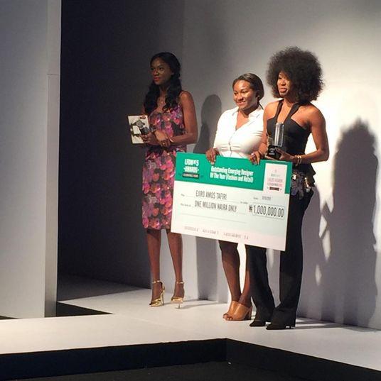 Heineken Lagos Fashion & Design Week 2015 Fashion Awards - BellaNaija - October 2015
