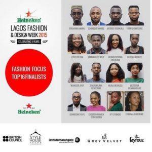 Heineken Lagos Fashion & Design Week 2015 Fashion Focus Finalists - BellaNaija - October 2015