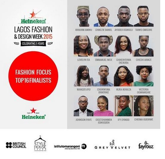 Heineken Lagos Fashion & Design Week 2015 Fashion Focus Finalists - BellaNaija - October 2015