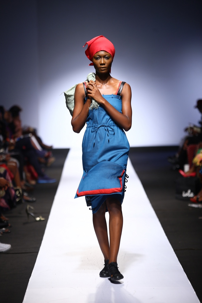 Heineken Lagos Fashion & Design Week 2015 Gozel Green Collection - BellaNaija - October 2015