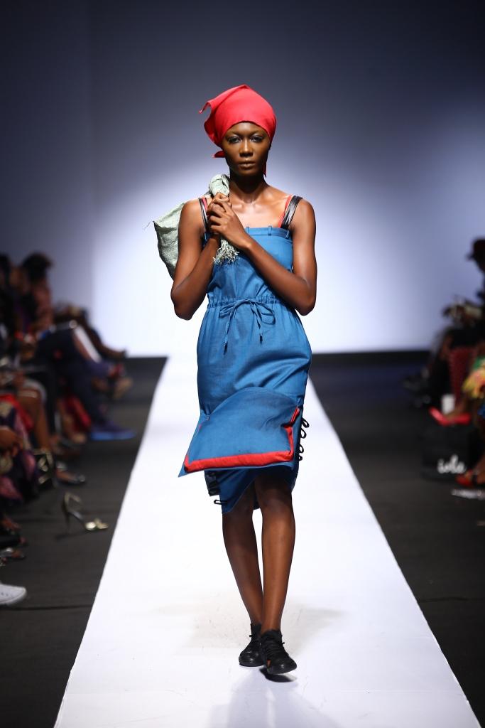Heineken Lagos Fashion & Design Week 2015 Gozel Green Collection - BellaNaija - October 2015