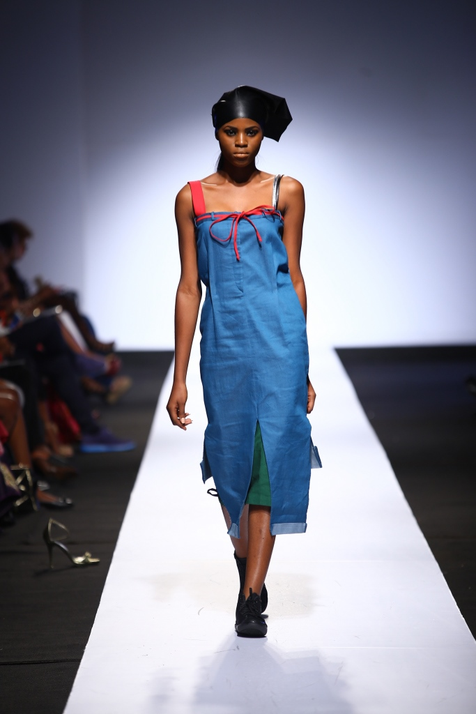 Heineken Lagos Fashion & Design Week 2015 Gozel Green Collection - BellaNaija - October 2015001