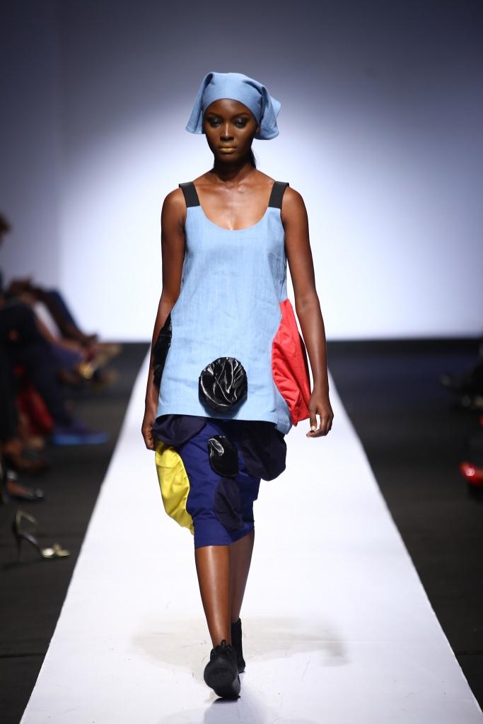 Heineken Lagos Fashion & Design Week 2015 Gozel Green Collection - BellaNaija - October 20150010