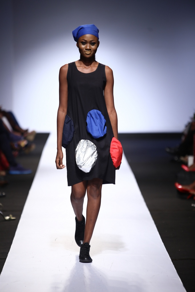 Heineken Lagos Fashion & Design Week 2015 Gozel Green Collection - BellaNaija - October 20150011