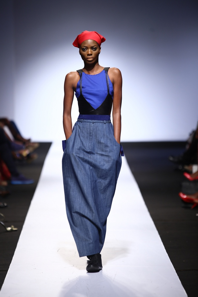 Heineken Lagos Fashion & Design Week 2015 Gozel Green Collection - BellaNaija - October 20150012