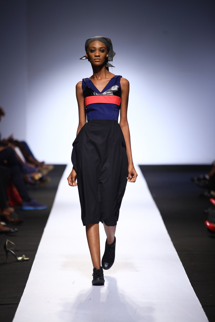 Heineken Lagos Fashion & Design Week 2015 Gozel Green Collection - BellaNaija - October 20150014