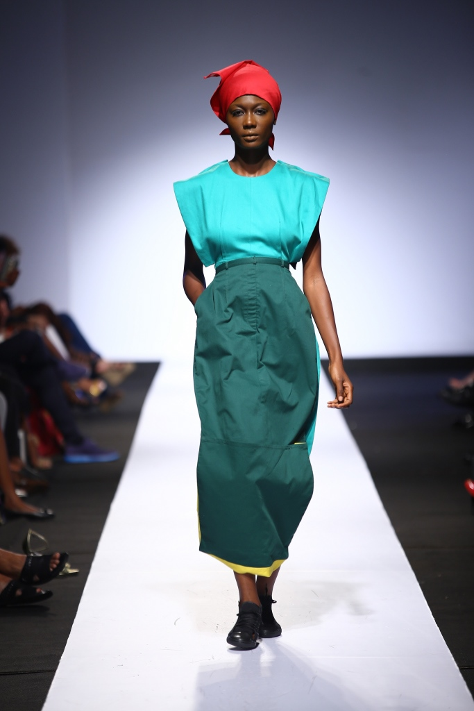 Heineken Lagos Fashion & Design Week 2015 Gozel Green Collection - BellaNaija - October 20150017
