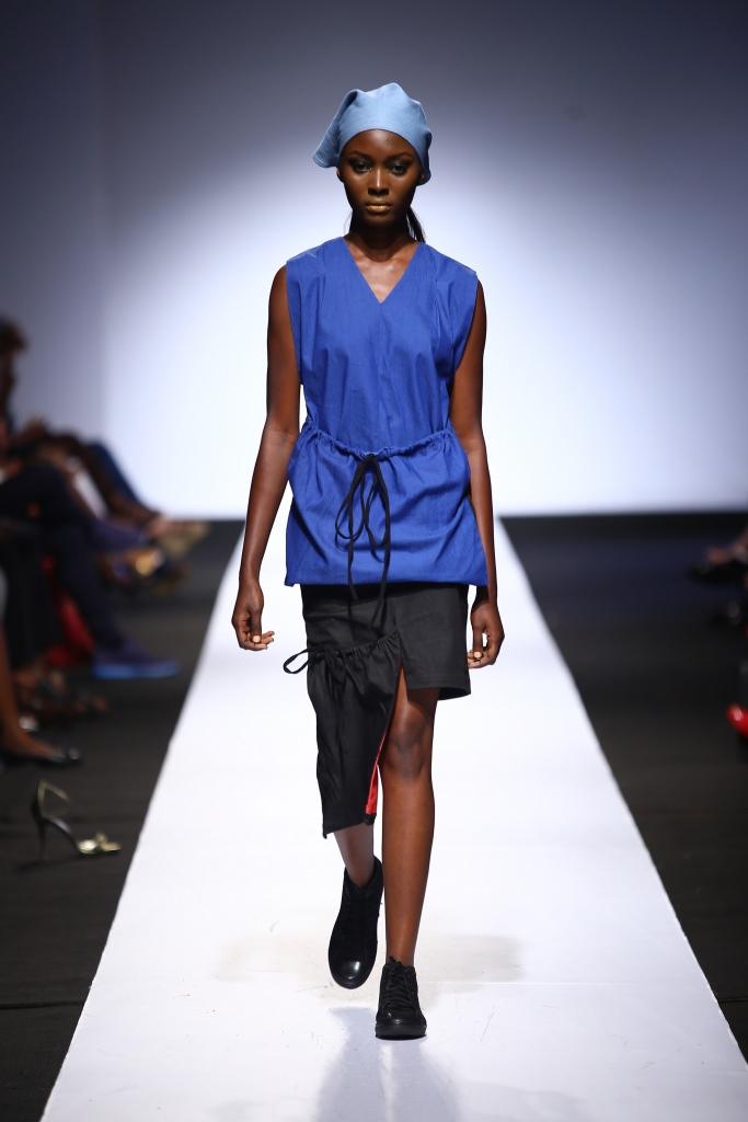 Heineken Lagos Fashion & Design Week 2015 Gozel Green Collection - BellaNaija - October 20150019