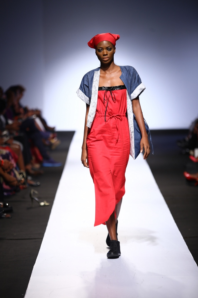 Heineken Lagos Fashion & Design Week 2015 Gozel Green Collection - BellaNaija - October 2015002