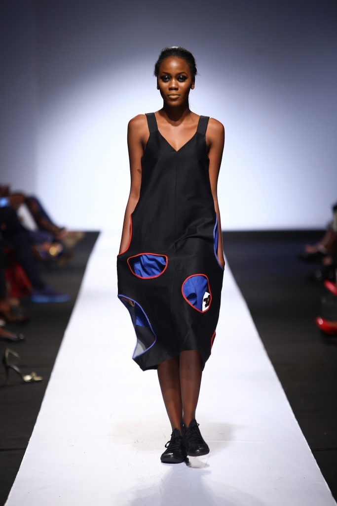 Heineken Lagos Fashion & Design Week 2015 Gozel Green Collection - BellaNaija - October 20150020