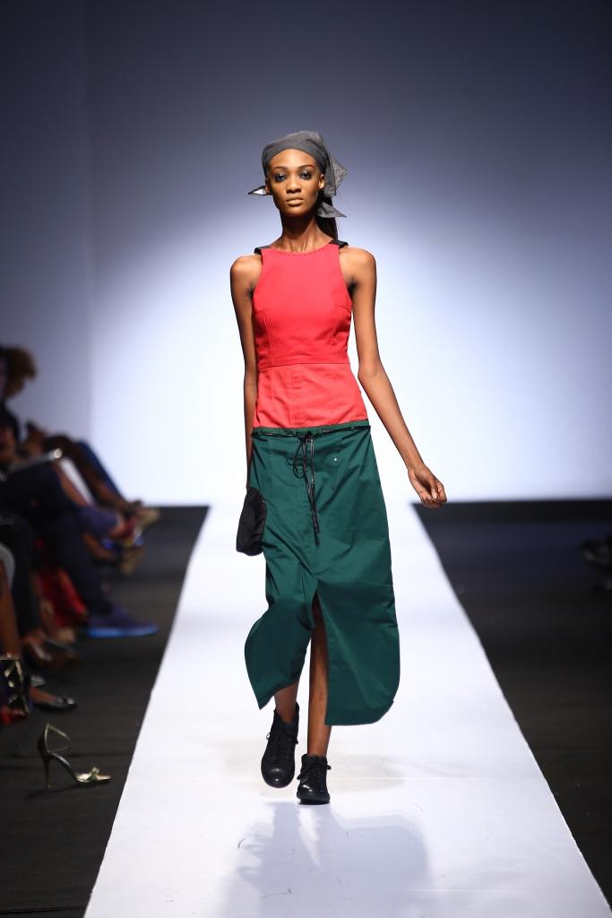 Heineken Lagos Fashion & Design Week 2015 Gozel Green Collection - BellaNaija - October 2015004