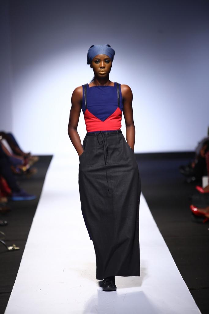 Heineken Lagos Fashion & Design Week 2015 Gozel Green Collection - BellaNaija - October 2015005