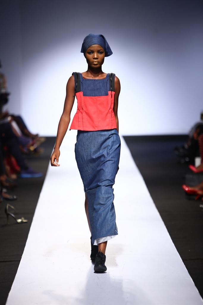 Heineken Lagos Fashion & Design Week 2015 Gozel Green Collection - BellaNaija - October 2015006