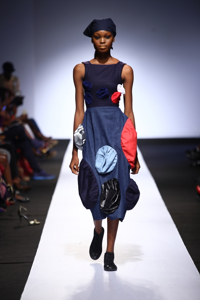 Heineken Lagos Fashion & Design Week 2015 Gozel Green Collection - BellaNaija - October 2015007