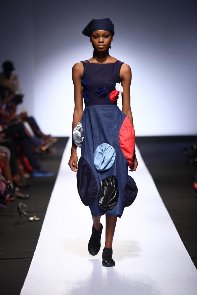 Heineken Lagos Fashion & Design Week 2015 Gozel Green Collection - BellaNaija - October 2015007