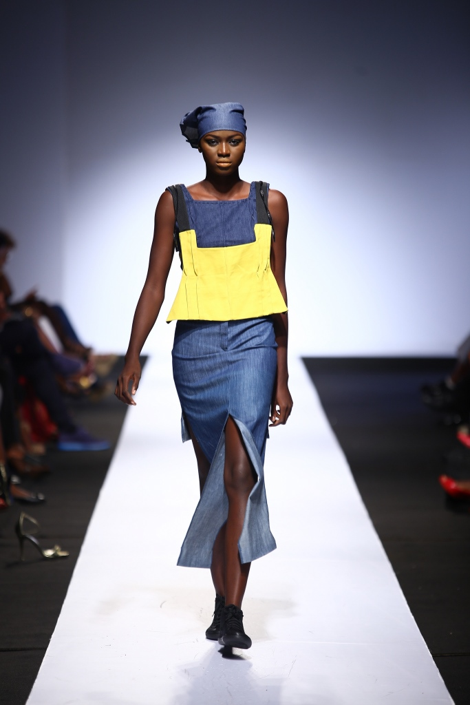 Heineken Lagos Fashion & Design Week 2015 Gozel Green Collection - BellaNaija - October 2015008