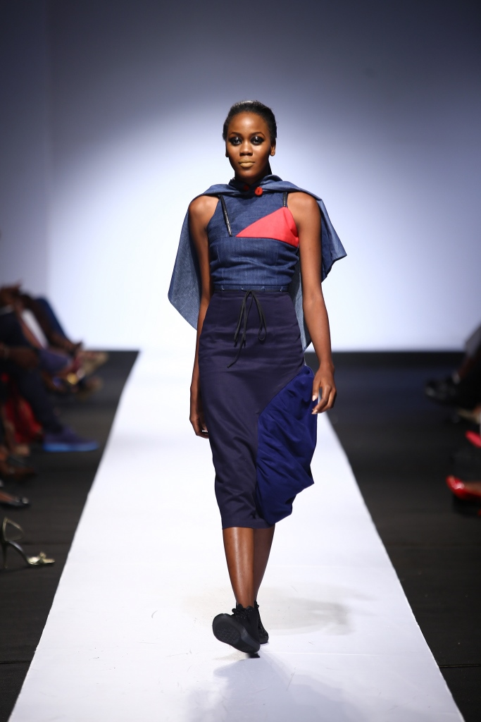Heineken Lagos Fashion & Design Week 2015 Gozel Green Collection - BellaNaija - October 2015009