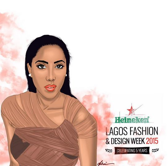 Heineken Lagos Fashion & Design Week Ambassadors - BellaNaija - October 2015005