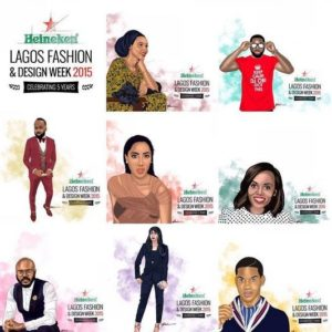 Heineken Lagos Fashion & Design Week Ambassadors - BellaNaija - October 2015