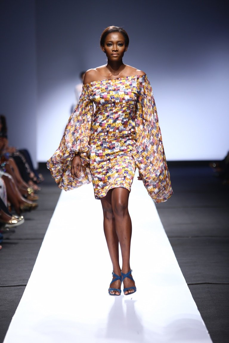 Heineken Lagos Fashion & Design Week Tiffany Amber Collection - BellaNaija - October 2015