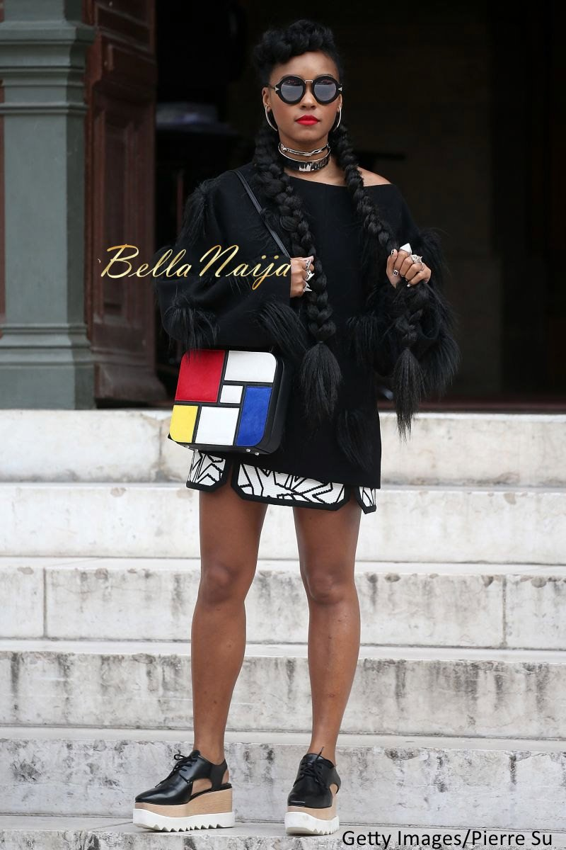 Janelle Monae Natural Hair - Bellanaija - September001
