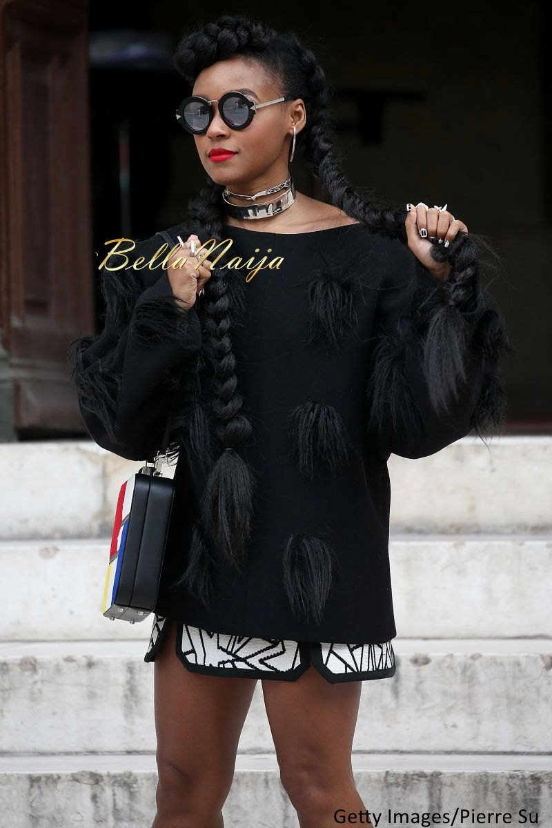 Janelle Monae Natural Hair - Bellanaija - September005