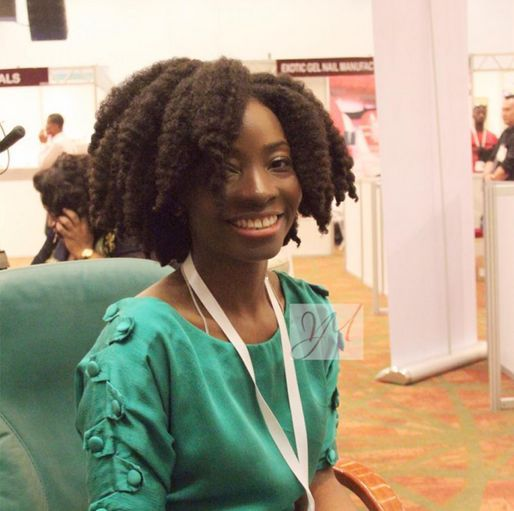 Jennifer Obiuwevbi od BellaNaija Beauty at the Beauty Africa Expo 2015 - Bellanaija - September002